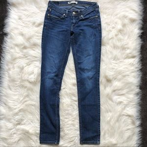 Levi's 524 Too Superlow with Pockets Skinny Jeans